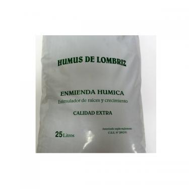 humus de lombriz 25L